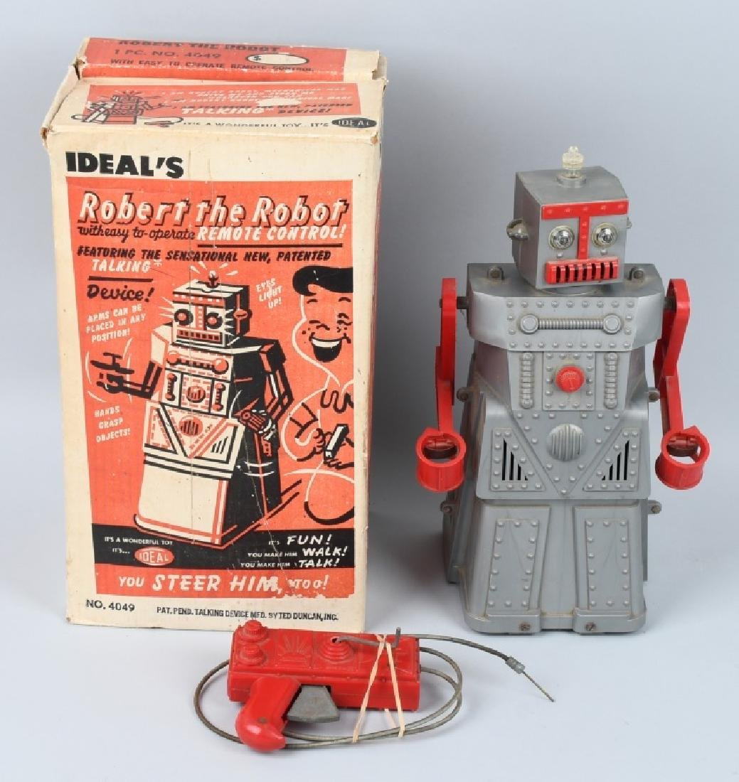 IDEAL ROBERT the ROBOT, BOXED