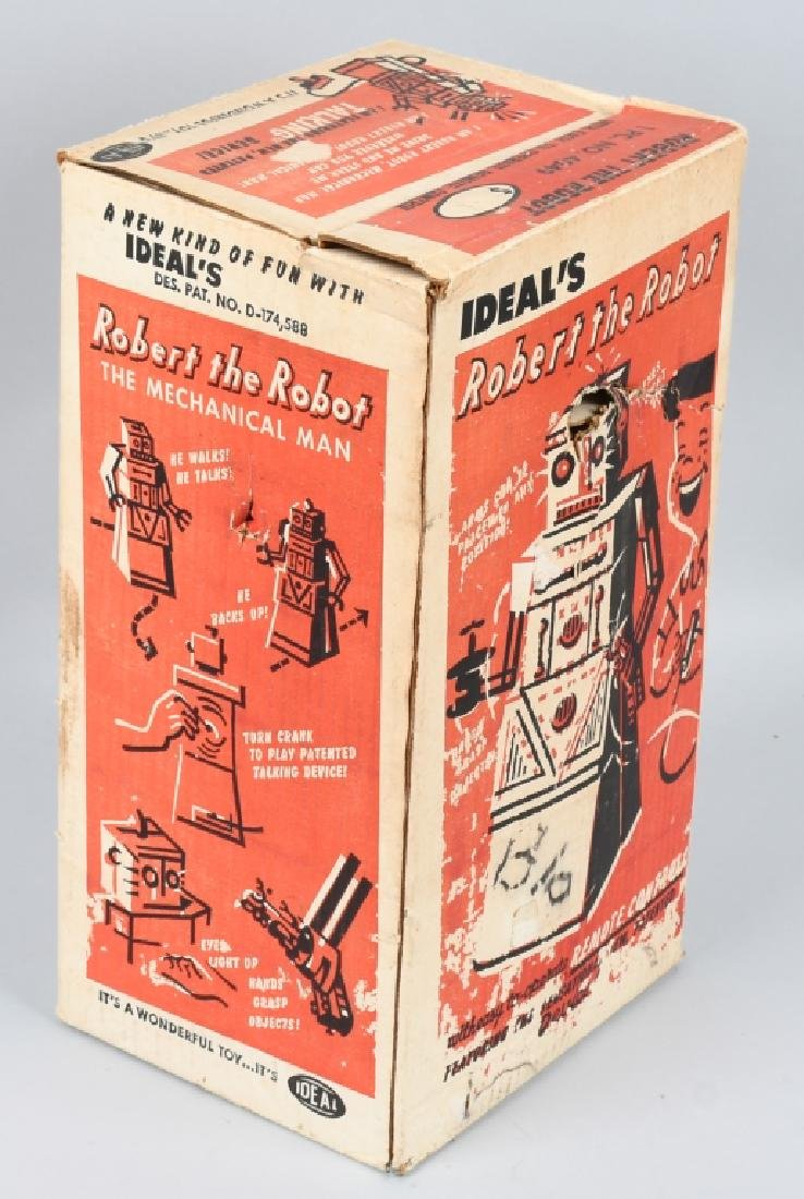IDEAL ROBERT the ROBOT, BOXED - 4