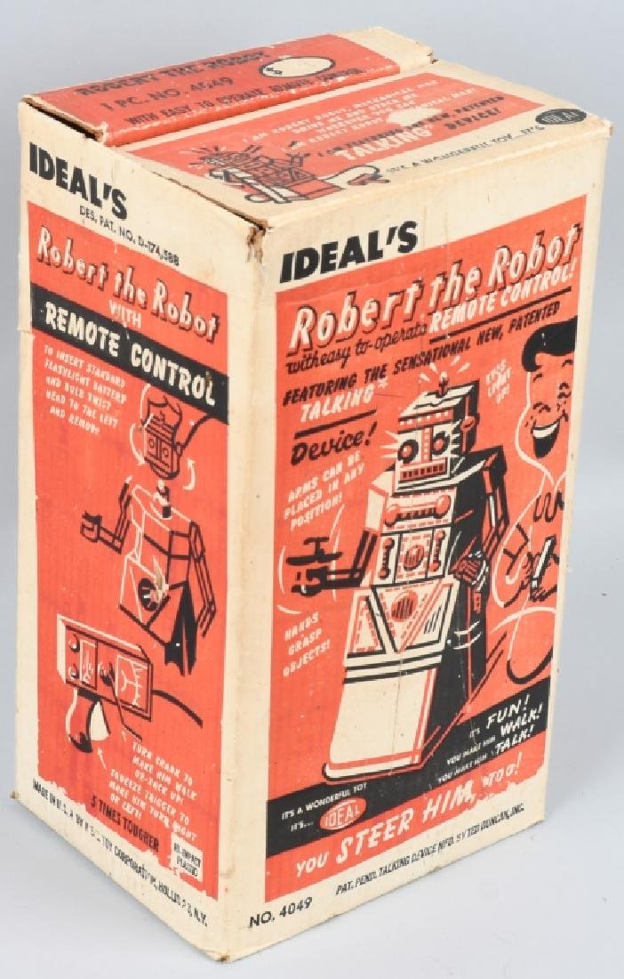 IDEAL ROBERT the ROBOT, BOXED - 5