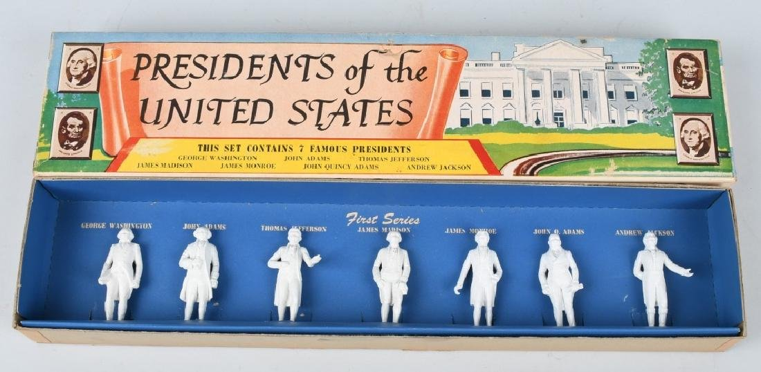 MARX PRESIDENT SETS, SERIES 1 - 5, BOXED - 2