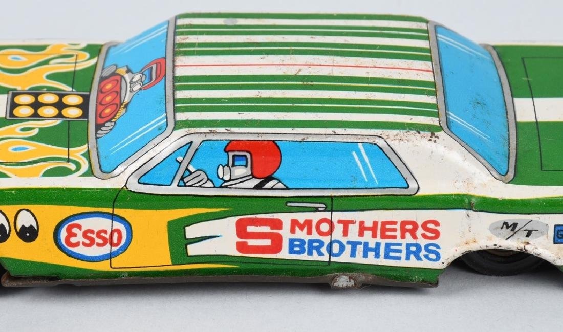 JAPAN TIN friction SMOTHERS BROTHERS ADV. CAR - 3