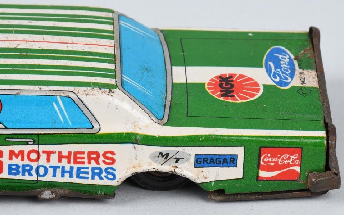 JAPAN TIN friction SMOTHERS BROTHERS ADV. CAR - 4