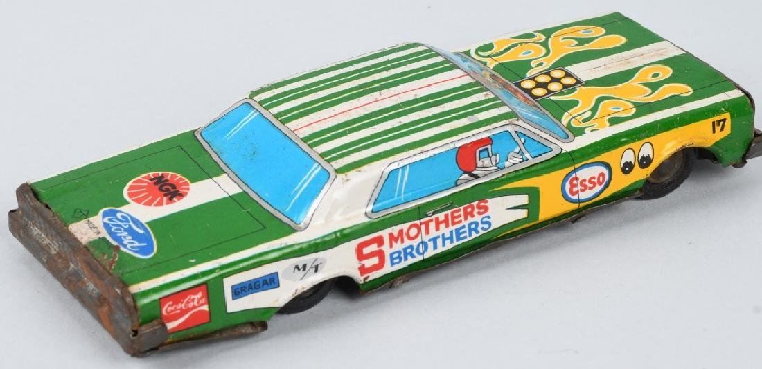 JAPAN TIN friction SMOTHERS BROTHERS ADV. CAR - 6