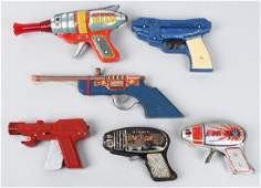 VINTAGE TOY SPACE GUNS & MORE