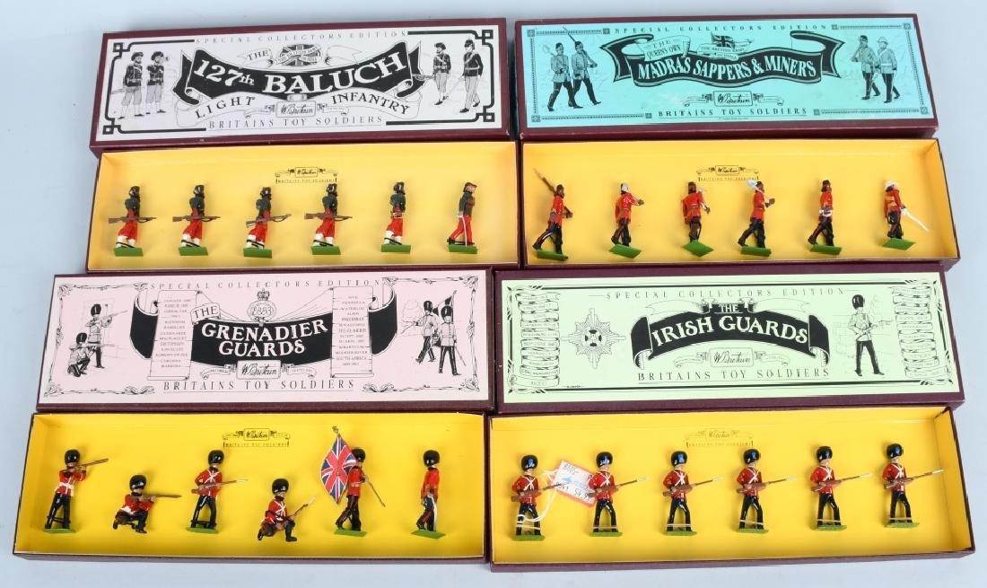 4-BRITAINS LIMITED EDITION LEAD SOLDIER SETS