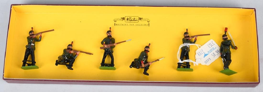 4-BRITAINS LIMITED EDITION LEAD SOLDIER SETS - 4