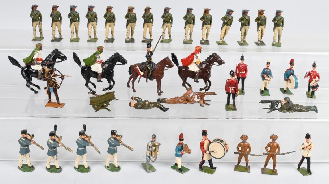 38-BRITAINS LEAD SOLDIERS