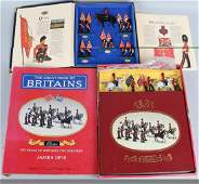BRITAINS TROOPING the COLOUR & BOOK SET