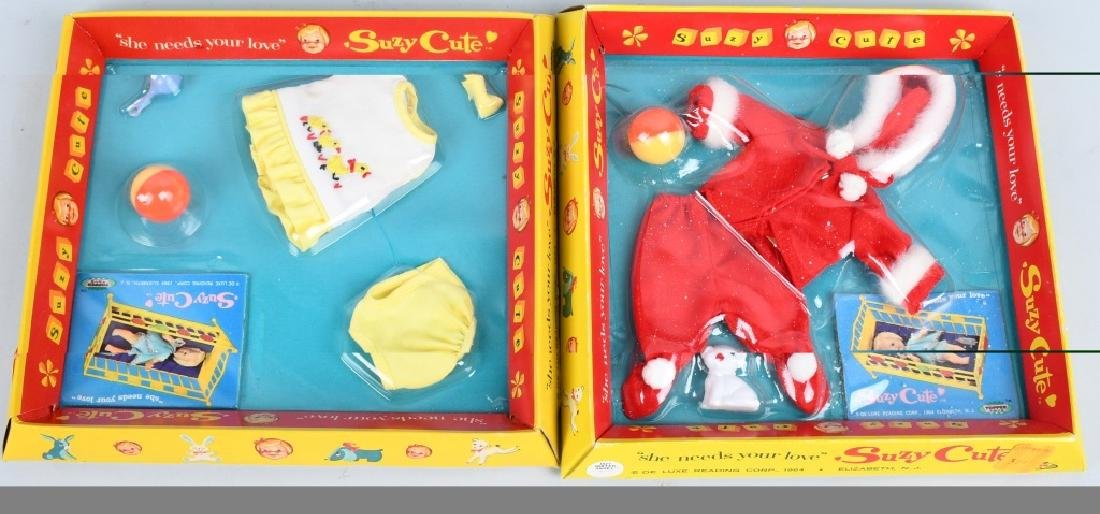 LARGE LOT of 1964 TOPPER SUZY CUTE DOLL & MORE - 8