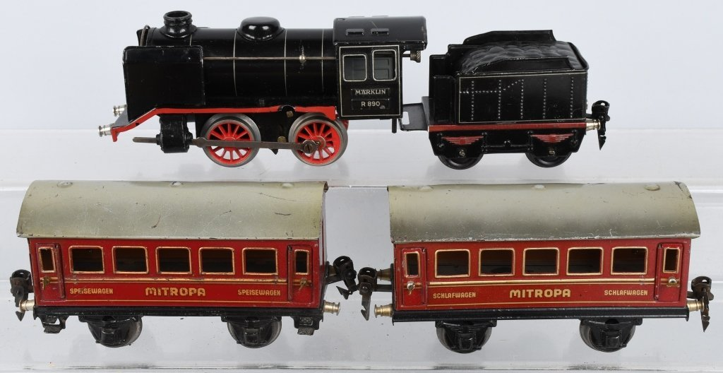MARKLIN O GAUGE R890, MITROPA TRAIN SET