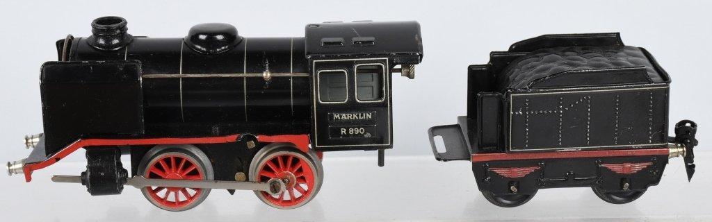 MARKLIN O GAUGE R890, MITROPA TRAIN SET - 2