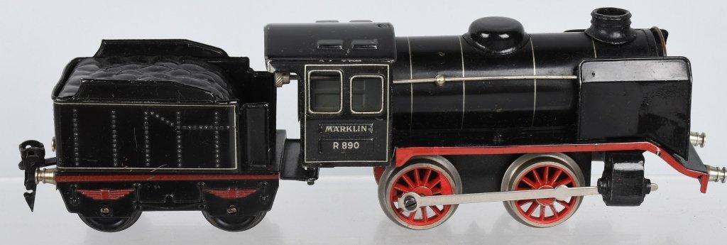 MARKLIN O GAUGE R890, MITROPA TRAIN SET - 3