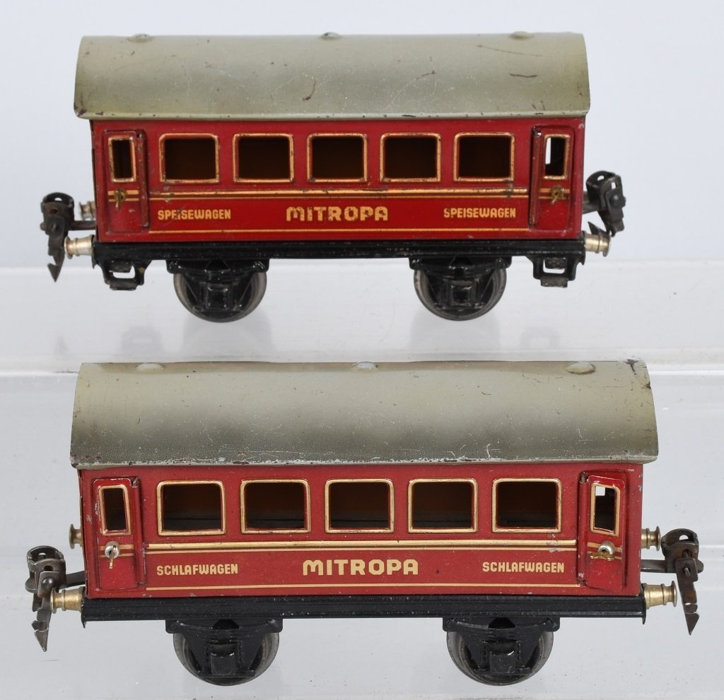 MARKLIN O GAUGE R890, MITROPA TRAIN SET - 5