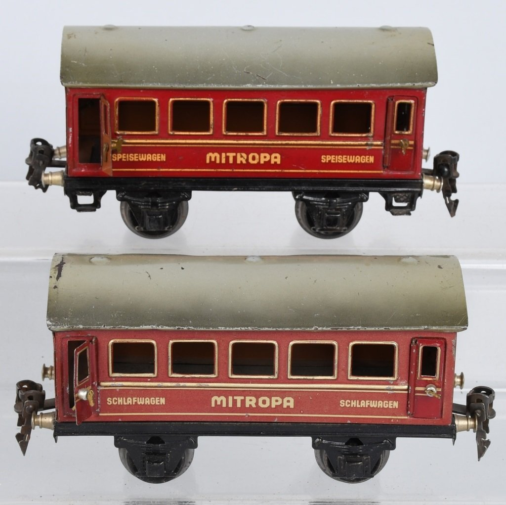 MARKLIN O GAUGE R890, MITROPA TRAIN SET - 6