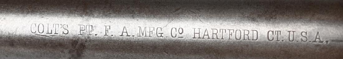COLT MODEL 1878 FRONTIER .45 REVOLVER, MFG 1886 - 4