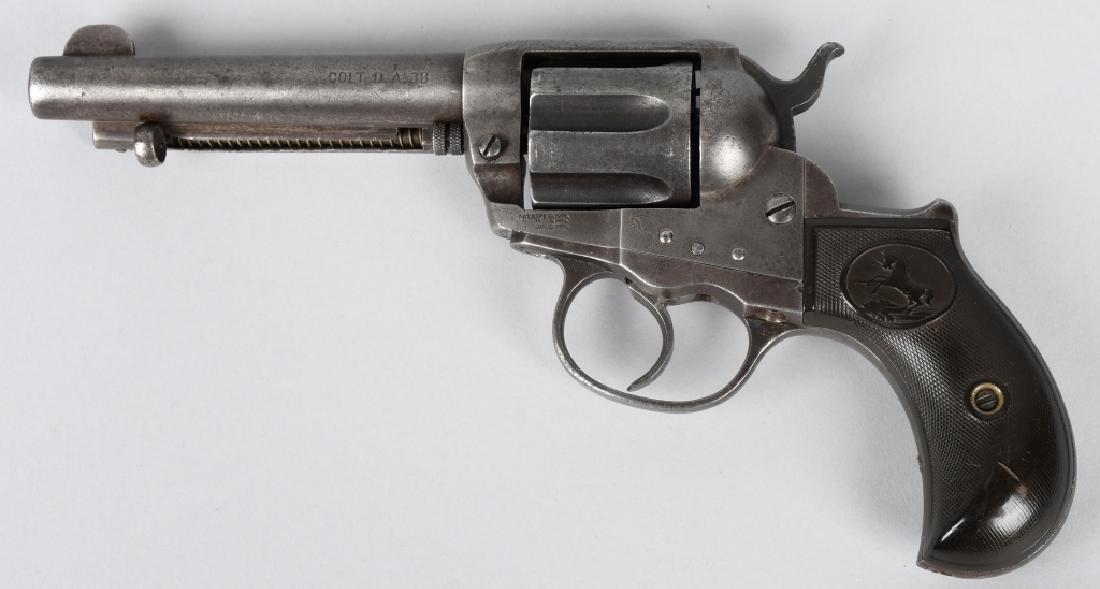COLT MODEL 1877 LIGHTNING .38 REVOLVER, MFG 1906 - 2