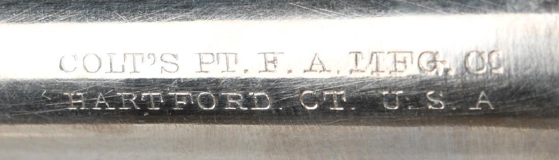 COLT MODEL 1877 LIGHTNING .38 REVOLVER, MFG 1888 - 4