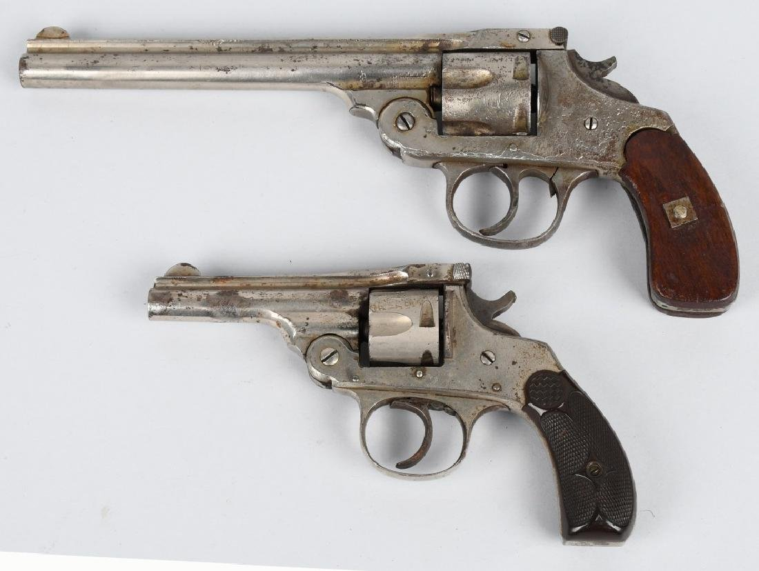 2-REVOLVERS, HOPKINS & ALLEN . 32 and MORE - 2