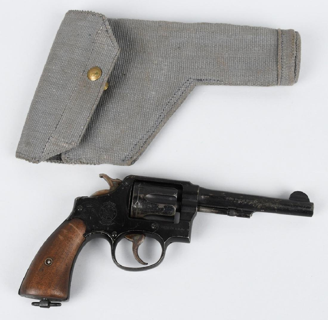 SMITH & WESSON VICTORY MODEL .38 REVOLVER