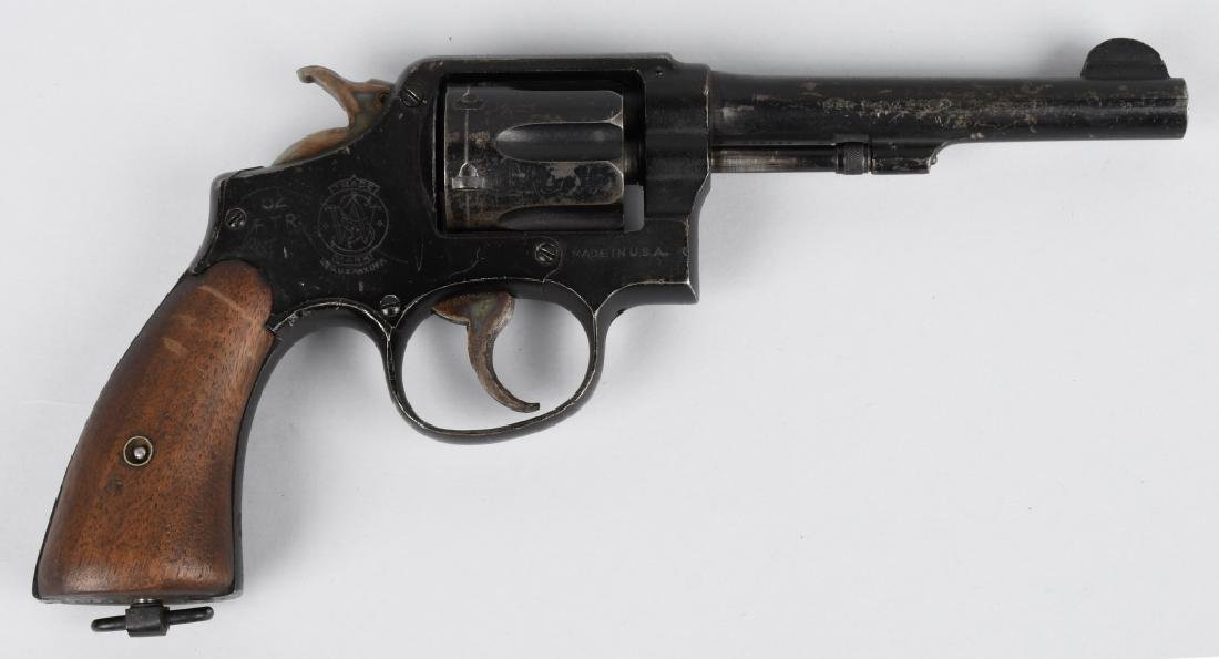 SMITH & WESSON VICTORY MODEL .38 REVOLVER - 2