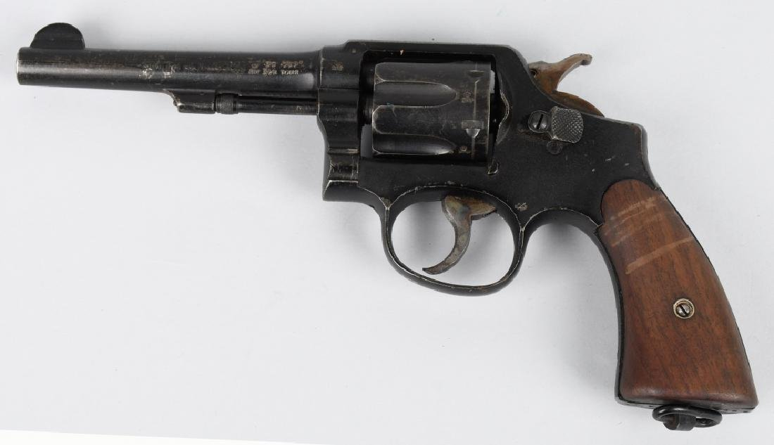 SMITH & WESSON VICTORY MODEL .38 REVOLVER - 3