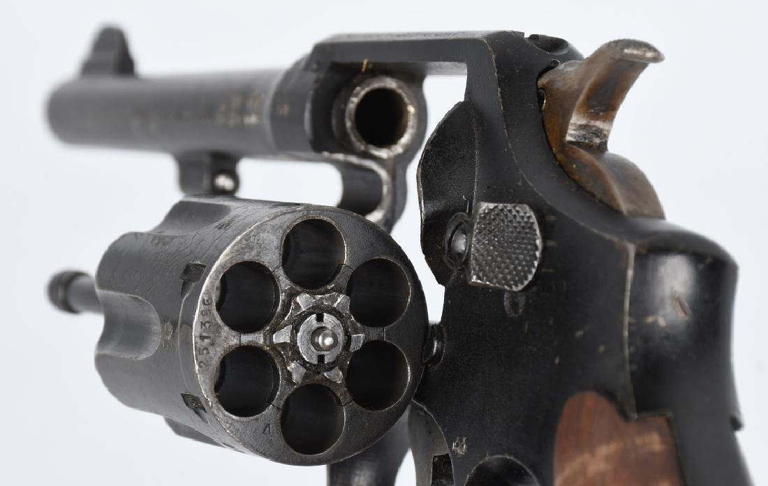 SMITH & WESSON VICTORY MODEL .38 REVOLVER - 4