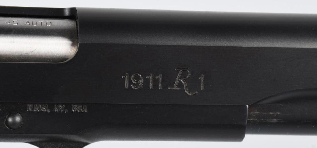REMINGTON MODEL 1911R1 .45 PISTOL, BOXED - 5
