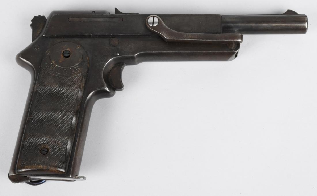 SPANISH JO-LO-AR 9mm SEMI AUTO PISTOL w/ HOLSTER - 2