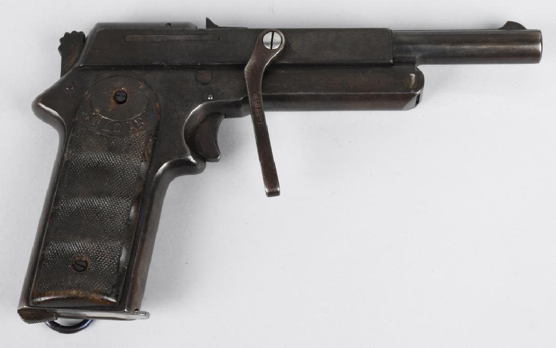 SPANISH JO-LO-AR 9mm SEMI AUTO PISTOL w/ HOLSTER - 3