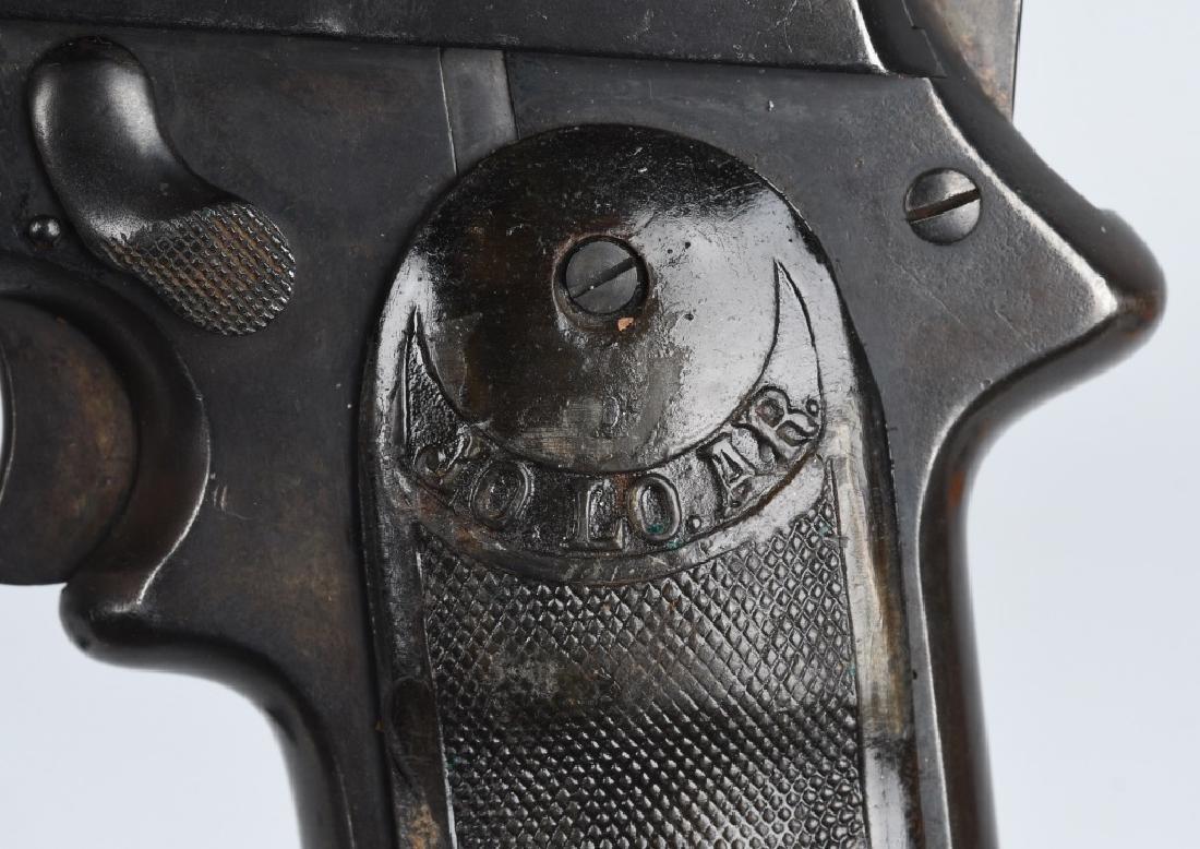 SPANISH JO-LO-AR 9mm SEMI AUTO PISTOL w/ HOLSTER - 6
