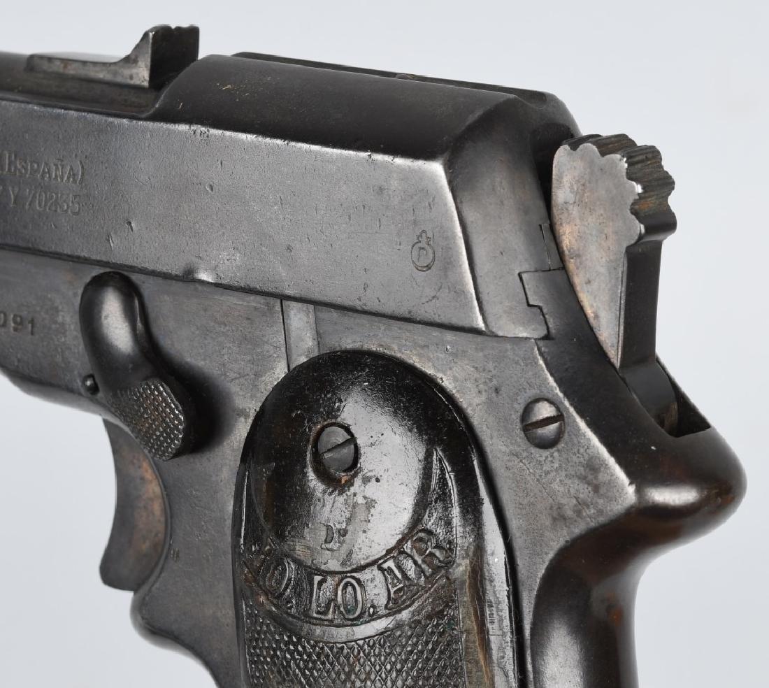 SPANISH JO-LO-AR 9mm SEMI AUTO PISTOL w/ HOLSTER - 9