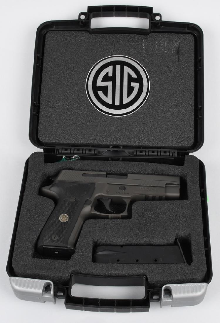 SIG SAUER MODEL P226, LEGION 9mm PISTOL, BOXED