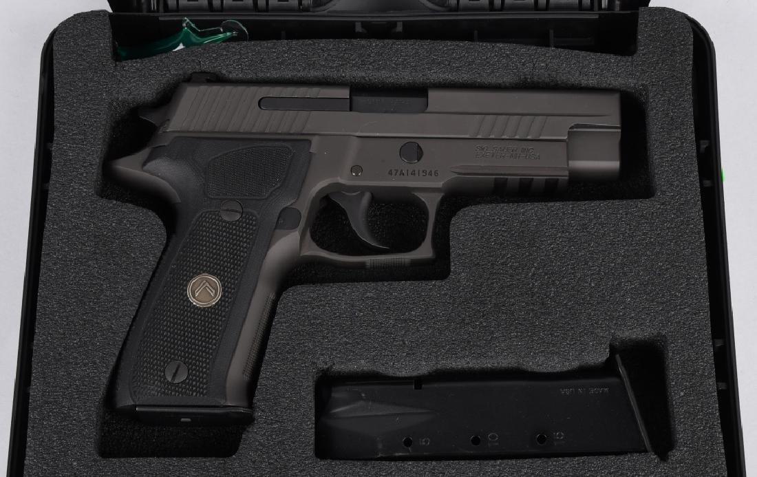 SIG SAUER MODEL P226, LEGION 9mm PISTOL, BOXED - 2