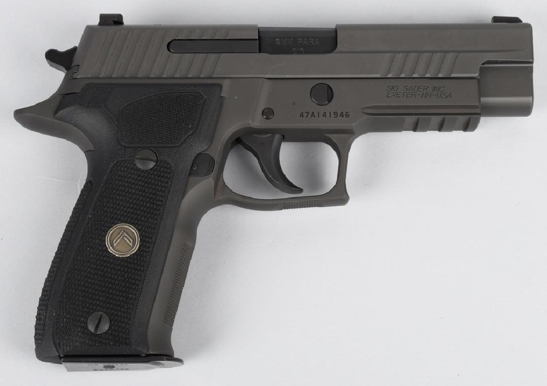 SIG SAUER MODEL P226, LEGION 9mm PISTOL, BOXED - 3