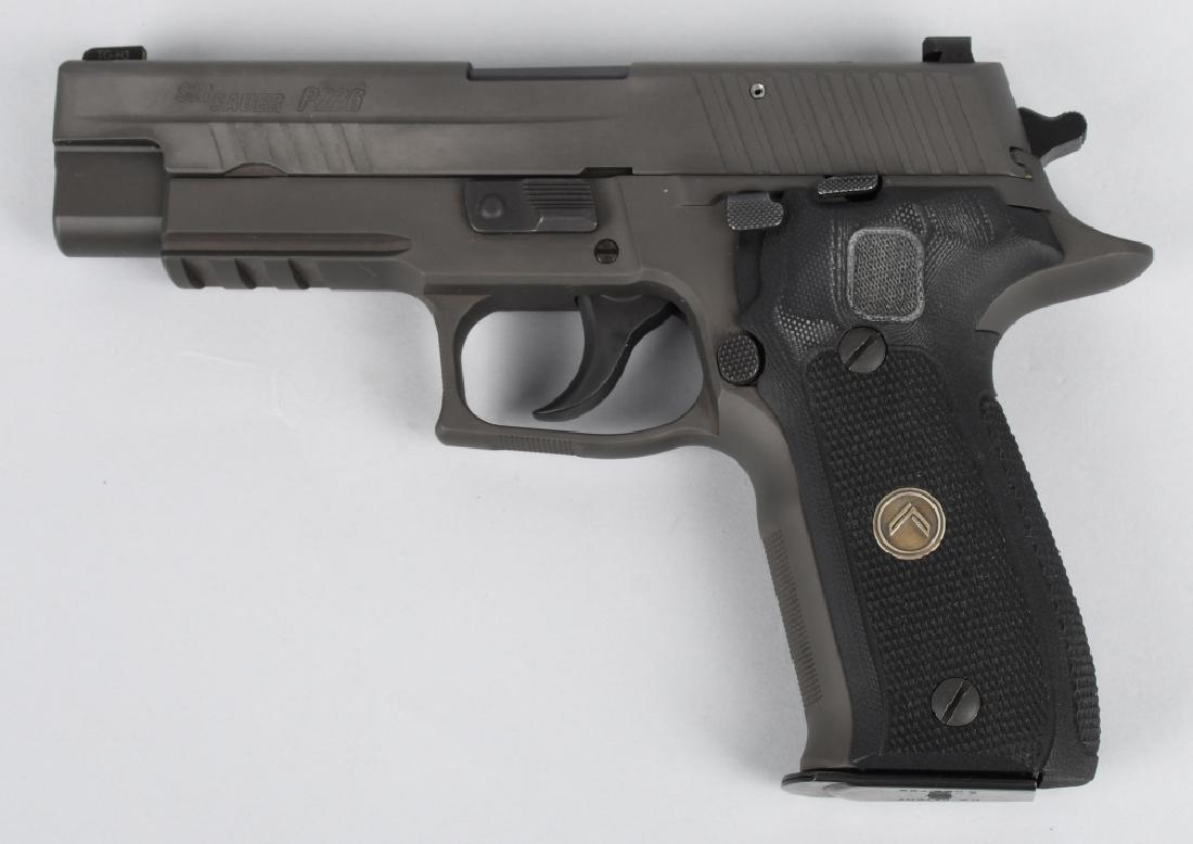 SIG SAUER MODEL P226, LEGION 9mm PISTOL, BOXED - 4