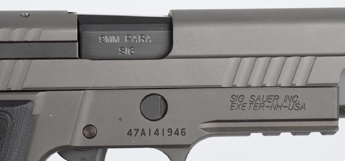 SIG SAUER MODEL P226, LEGION 9mm PISTOL, BOXED - 7