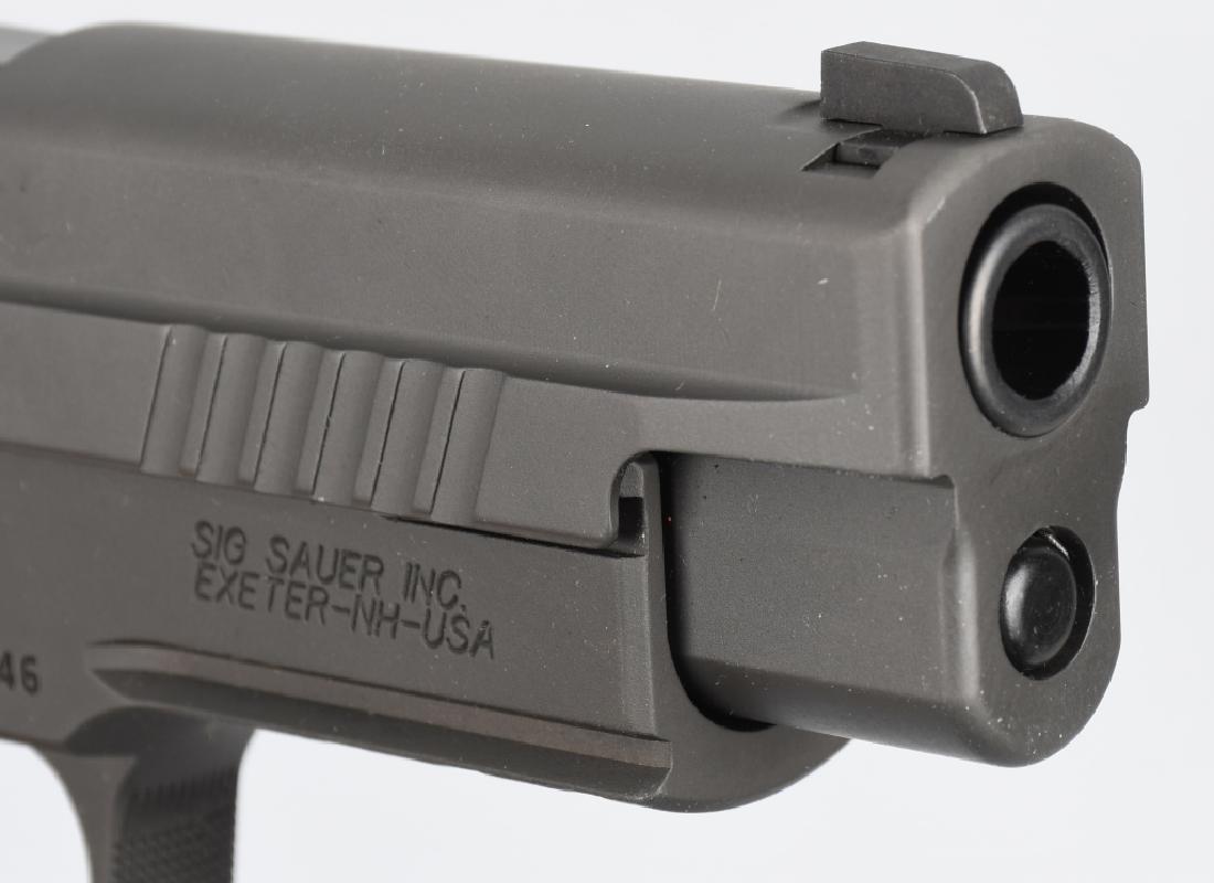 SIG SAUER MODEL P226, LEGION 9mm PISTOL, BOXED - 8