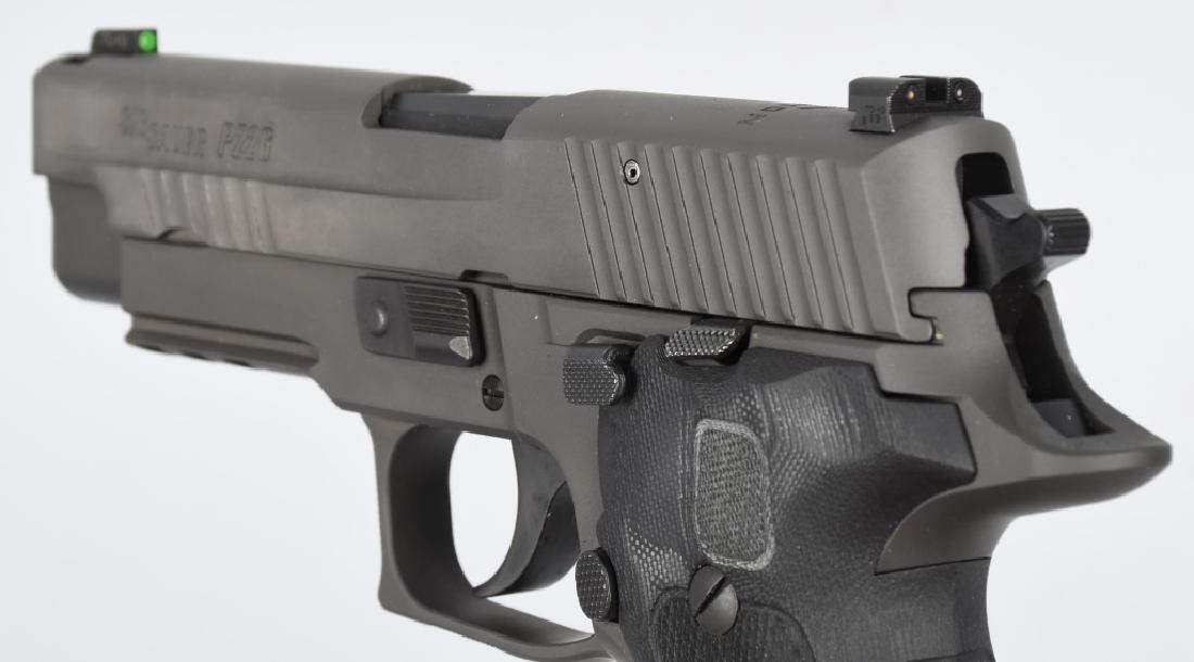 SIG SAUER MODEL P226, LEGION 9mm PISTOL, BOXED - 9