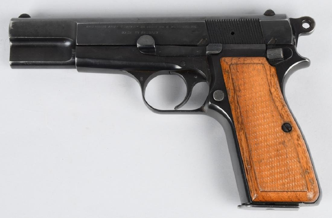 BROWNING HIGH POWER 9mm SEMI AUTO PISTOL - 2