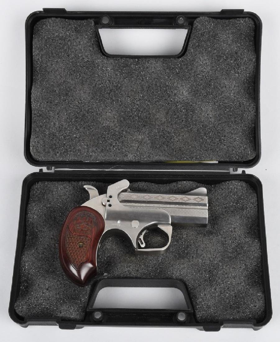 BOND ARMS .45 /.410 OVER & UNDER PISTOL, BOXED