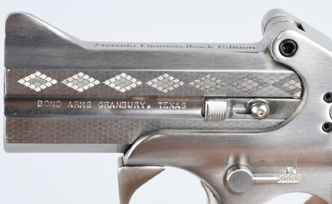 BOND ARMS .45 /.410 OVER & UNDER PISTOL, BOXED - 5