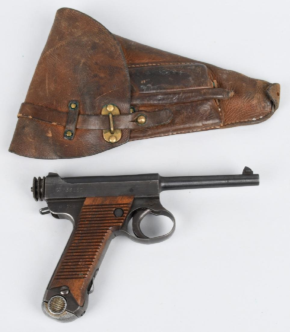 JAPANESE TYPE 14 NAMBU 8mm PISTOL w/ HOLSTER
