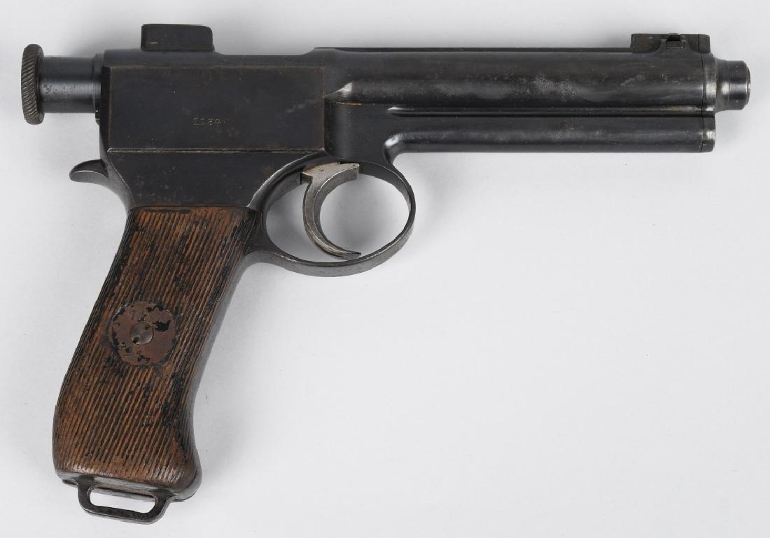 ROTH-STEYR 1905 8mm DA SEMI AUTO PISTOL - 2