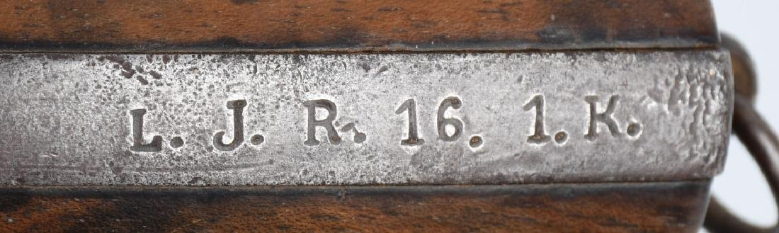 WWI GERMAN 26.5mm FLARE GUN, UNIT MARKED - 5