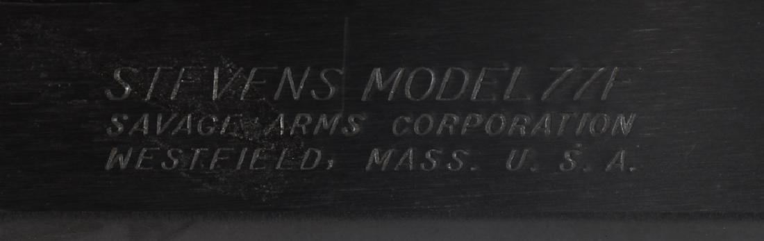 STEVENS MODEL 77F, 20 GA. PUMP SHOTGUN - 9