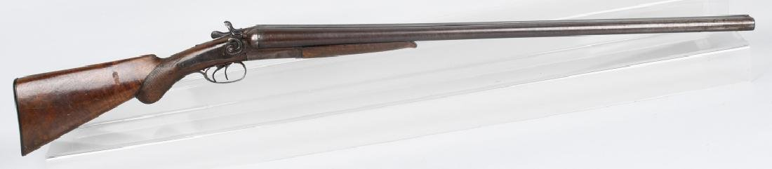 W. RICHARDS SxS 12 GA. HAMMER SHOTGUN