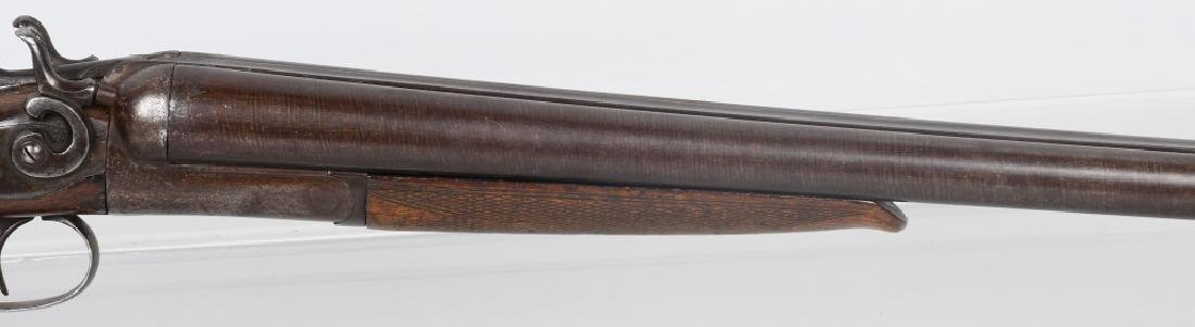 W. RICHARDS SxS 12 GA. HAMMER SHOTGUN - 4