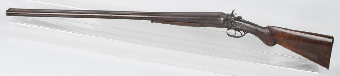 W. RICHARDS SxS 12 GA. HAMMER SHOTGUN - 5