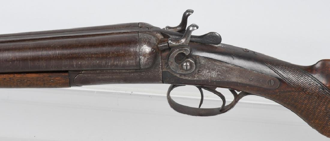 W. RICHARDS SxS 12 GA. HAMMER SHOTGUN - 6