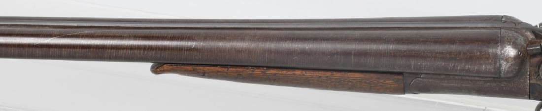 W. RICHARDS SxS 12 GA. HAMMER SHOTGUN - 8